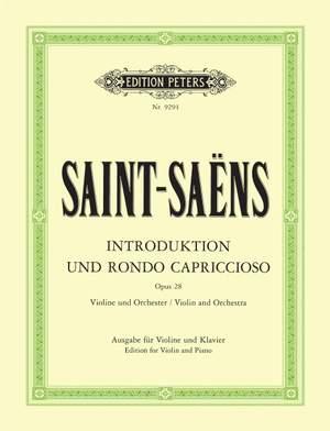 Saint-Saëns, C: Introduction and Rondo capriccioso Op.28