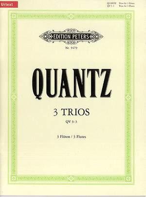 Quantz, J: 3 Trios