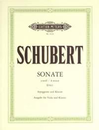 Schubert: Arpeggione Sonata in A minor D821
