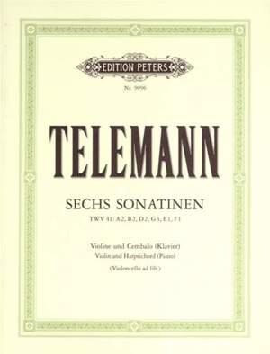 Telemann, G: 6 Sonatinas
