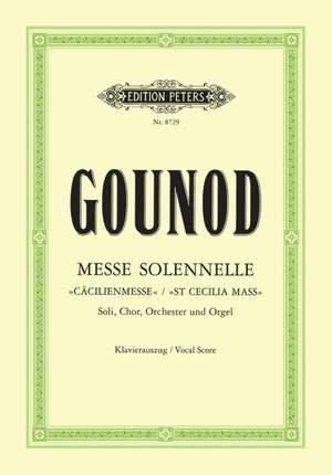 Gounod, C: Messe solennelle en l'honneur de Sainte-Cécile Product Image
