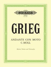 Grieg: Andante con Moto in C minor