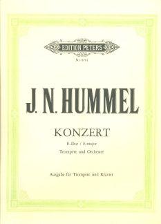 Hummel, J: Concerto in E