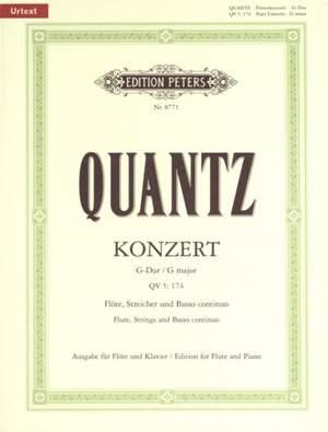 Quantz, J: Flute Concerto in G Major QV5:174