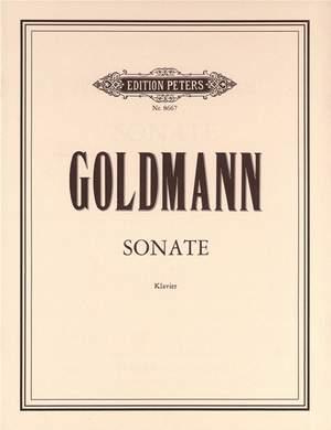 Goldmann, Friedrich: Piano Sonata