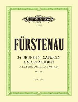 Furstenau, A: 24 Exercises, Caprices and Preludes Op.125