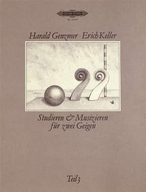 Genzmer, Harald: Studieren u. Musizieren für 2 Violinen