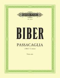 Biber, H: Passacaglia in C minor