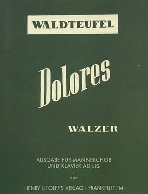 Waldteufel, Emil: Dolores op. 170