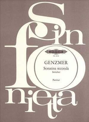 Genzmer, H: Sonatina seconda