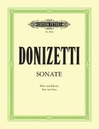 Donizetti: Flute Sonata in C