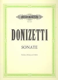 Donizetti: Sonata for Violin (Flute) & Harp