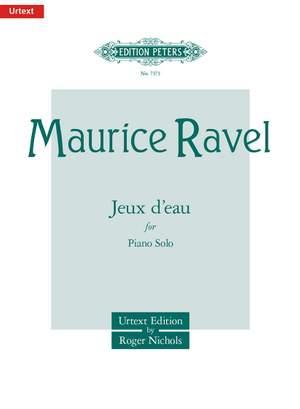 Ravel, M: Jeux d'eau