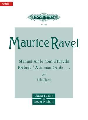 Ravel, M: Album of shorter pieces