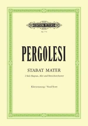 Pergolesi, G: Stabat Mater