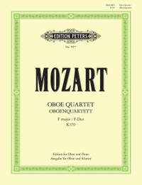 Mozart: Oboe Quartet in F K.370 (arranged for Oboe and Piano)