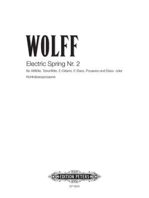 Wolff, C: Electric Spring II