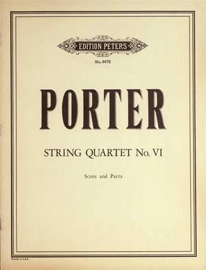Porter, Q: String Quartet No. 6