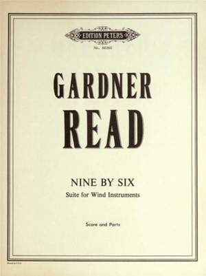 Read, G: Nine by Six (Suite for Wind Instruments)