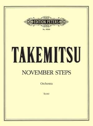 Takemitsu, T: November Steps