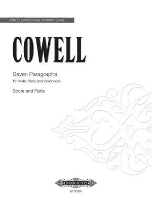 Cowell, H: Seven Paragraphs