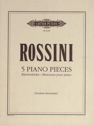 Rossini: 5 Piano Pieces