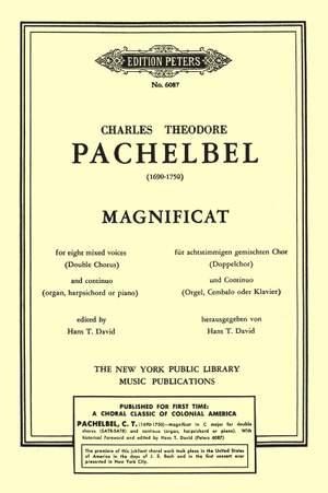 Pachelbel, K: Magnificat