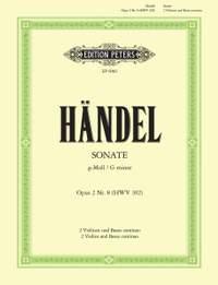 Handel: Trio Sonata in G minor Op.2 No.8