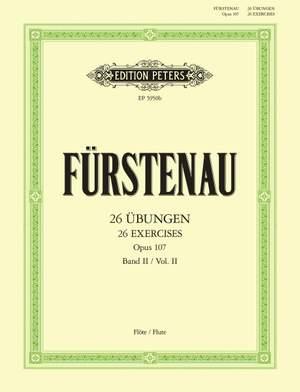 Furstenau, A: 26 Advanced Exercises Op.107 Vol.2
