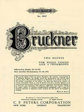 Bruckner: 2 Motets