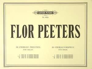 Peeters, F: 30 Chorale Preludes Vol.2 Op.69