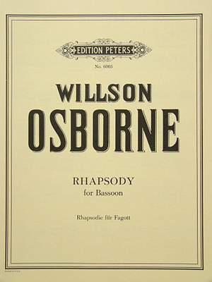 Osborne, W: Rhapsody for Bassoon