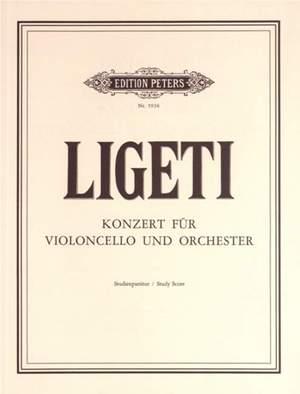 Ligeti, G: Cello Concerto