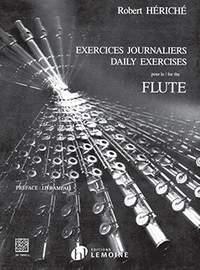 Heriche, Robert: Exercices Journaliers (flute)