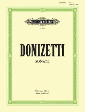 Donizetti: Oboe Sonata in F (Concertino)