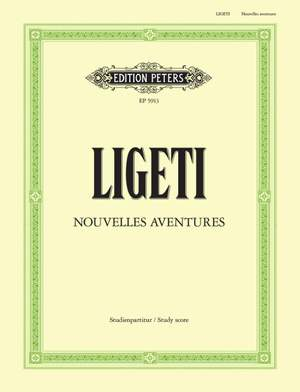 Ligeti, G: Nouvelles Aventures