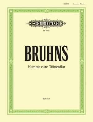 Bruhns, N: Hemmt eure Tränenflut a-Moll