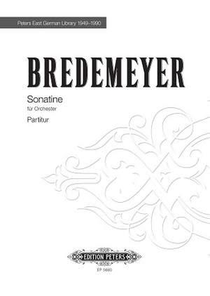 Bredemeyer, Reiner: Sonatine (1963)