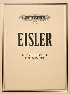 Eisler, H: Piano Pieces for Children (7)