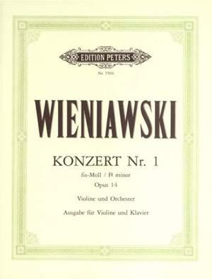 Wieniawski, H: Concerto No.1 in F# minor Op.14