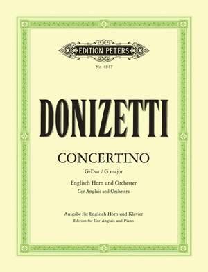 Donizetti: English Horn Concertino in G