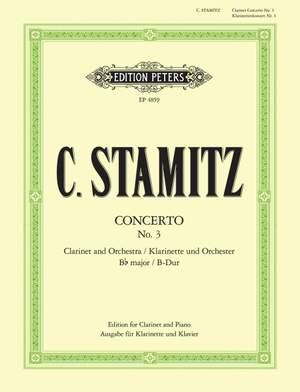 Stamitz, C: Concerto No. 3 in B flat major