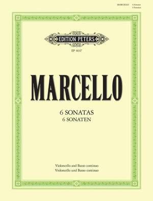 Marcello, B: 6 Sonatas Op.2
