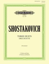 Shostakovich: 3 Duets