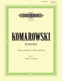 Komarowski: Violin Concerto No.2 in A major