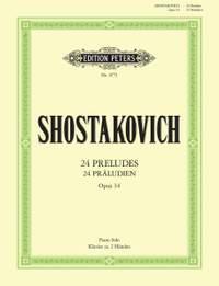 Shostakovich: 24 Preludes Op.34