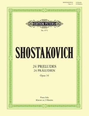 Shostakovich: 24 Preludes Op.34 Product Image