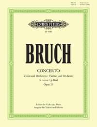 Bruch, M: Concerto No.1 in G minor Op.26