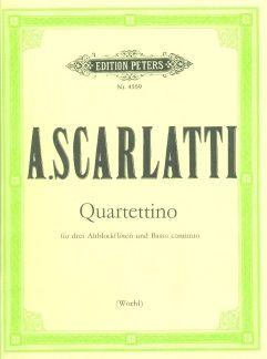 Scarlatti, A: Quartettino in F
