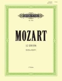 Mozart: 12 Duos K496a
